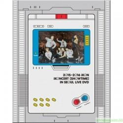 iKON - 2015-2016 iKONCERT 'SHOWTIME' IN SEOUL LIVE DVD 韓版