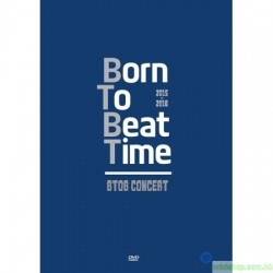 BTOB - 2015-16 BTOB BORN TO BEAT TIME CONCERT DVD 韓版
