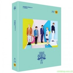 SHINEE - THE 4TH CONCERT [SHINEE WORLD IV] BLU-RAY 韓版