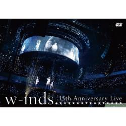 台版DVD w-inds. 15th Anniversary Live」