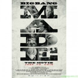 BIGBANG10 THE MOVIE 'BIGBANG MADE' POSTER SET