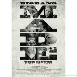 BIGBANG10 THE MOVIE 'BIGBANG MADE' POSTER SET