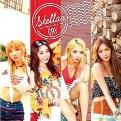 STELLAR - CRY (SINGLE ALBUM) 韓版