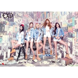 [海報]EXID - Ah Yeah (2nd Mini Album) Poster 韓版