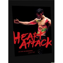 林峯 – LF HEART ATTACK LIVE IN HK (3DVD+2CD)