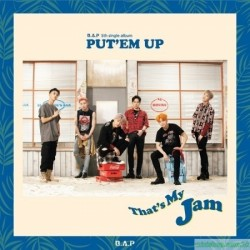 B.A.P 5th single album [PUT'EM UP] 韓版