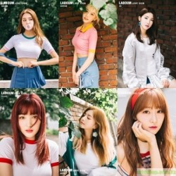 LABOUM - LOVE SIGN (1ST MINI ALBUM)韓版
