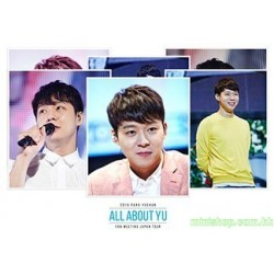 "2015 PARK YUCHUN FAN MEETING JAPAN TOUR ""ALL ABOUT YU""  日版"