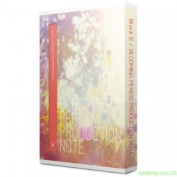 BLOCK B~BLOOMING PERIOD PRODUCION NOTE 2DVD 韓版