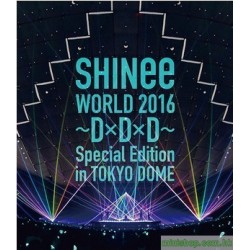 通常盤Blu-ray [SHINee WORLD 2016~D×D×D~ Special Edition in TOKYO DOME]