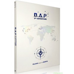 B.A.P - 화보집 3RD ADVENTURE [50,000 MILES ON EARTH] 韓版