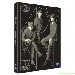 SUPERJUNIOR K.R.Y. - ASIA TOUR [PHONOGRAPH] IN SEOUL 2DVD 韓版