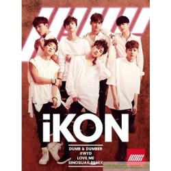 IKON DUMB & DUMBER Single, CD+DVD 日版