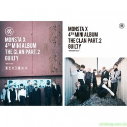 MONSTA X - Mini Album Vol.4 [THE CLAN 2.5 PART.2 GUILTY]韓版