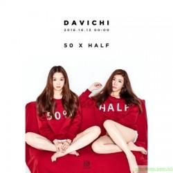 DAVICHI - 50 X HALF (MINI ALBUM)