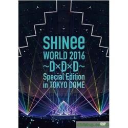 [台版] SHINee WORLD 2016~D×D×D~ Special Edition in TOKYO DOME 2DVD