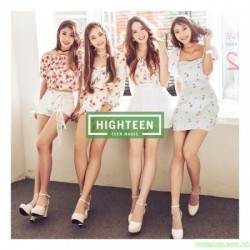 "HIGHTEEN 1st. Mini Album ""TEEN MAGIC"" 韓版"