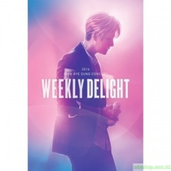 申彗星 2016 SHIN HYE SUNG CONCERT WEEKLY DELIGHT DVD 韓版