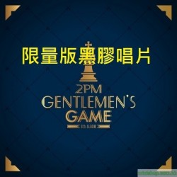 [LP黑膠]2PM - VOL.6 [GENTLEMEN'S GAME]韓版