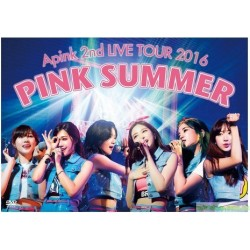 [台版DVD]Apink 2nd LIVE TOUR 2016 PINK SUMMER 2016 PINK SUMMER日本巡迴演唱2DVD