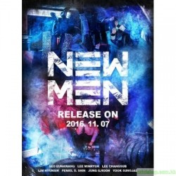BTOB - NEW MEN (9TH MINI ALBUM) 韓版