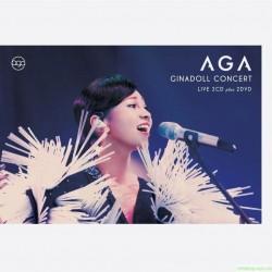 AGA (江海迦)首張演唱會專輯 2CD+2DVD
