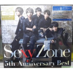 Sexy Zone 5th Anniversary Best (初回限定盤B)(DVD付) CD+DVD, Limited Edition