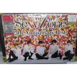 Sexy Zone 5th Anniversary Best (初回限定盤A)(DVD付) CD+DVD, Limited Edition