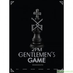 2PM - GENTELMEN'S GAME MONOGRAPH DVD 3000限量版