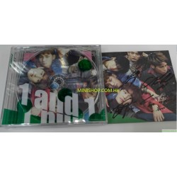 SHINEE - VOL.5 REPACKAGE [1 AND A] (2CD) 韓國親筆簽名版