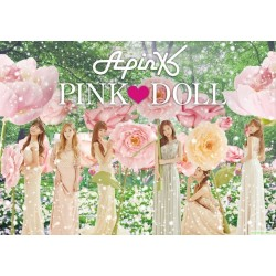 "Apink 2nd full album in Japan ""PINK ♥ DOLL""日版"