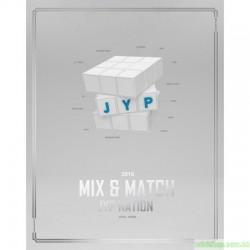 JYP NATION - JYP NATION KOREA 2016 MIX & MATCH PHOTOBOOK