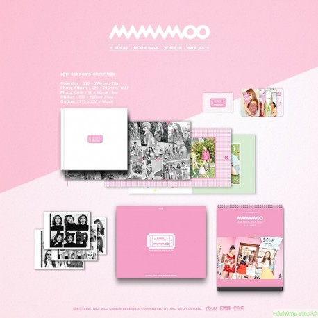 MAMAMOO - 2017 SEASON'S GREETING