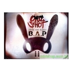 B.A.P ONE SHOT(DVD付) Single, CD+DVD 日版