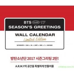 BTS - 2017 WALL CALENDAR 韓版
