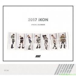 IKON - 2017 IKON SPECIAL CALENDAR 韓版