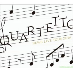 NEWS LIVE TOUR 2016 QUARTETTO DVD & Blu-ray