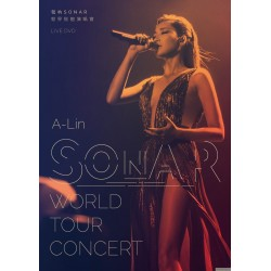 A-Lin / 聲吶SONAR世界巡迴演唱會 LIVE DVD