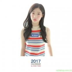 JUNG CHAE YEON(DIA) - 2017 CALENDAR