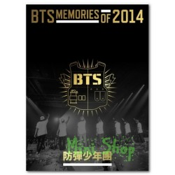 BTS - MEMORIES OF 2014 (3DVD + PHOTOBOOK(100p))