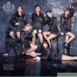 AOA ANGEL'S KNOCK  台灣獨占B版 CD+DVD