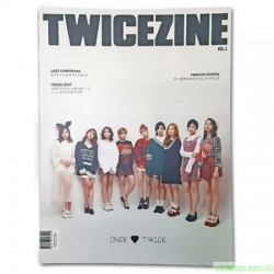 TWICE - TWICEZINE VOL.1 PHOTO BOOK