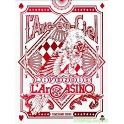 L'Arc~en~Ciel LIVE 2015 L'ArCASINO【2DVD+2CD台壓豪華盤】