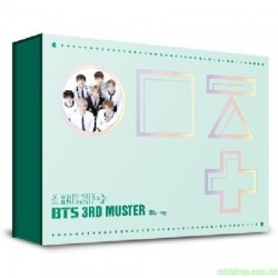 BTS 3RD MUSTER [ARMY.ZIP+] BLU-RAY 韓版