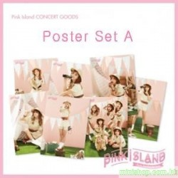 "APINK 2ND CONCERT ""PINK ISLAND"" - POSTER SET A"