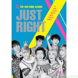 GOT7 the 3rd Mini Album [Just right] 韓版