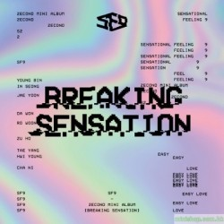 SF9-2ND MINI ALBUM [BREAKING SENSATION]