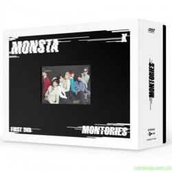 MONSTA X - 1ST DVD [MONTORIES] 3DVD