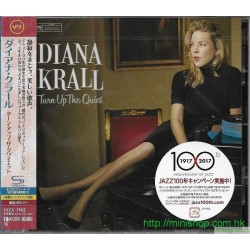 DIANA KRALL-TURN UP THE QUIET-JAPAN SHM-CD  日版