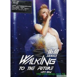 衛蘭 Walking To The Future Live 2014 2DVD